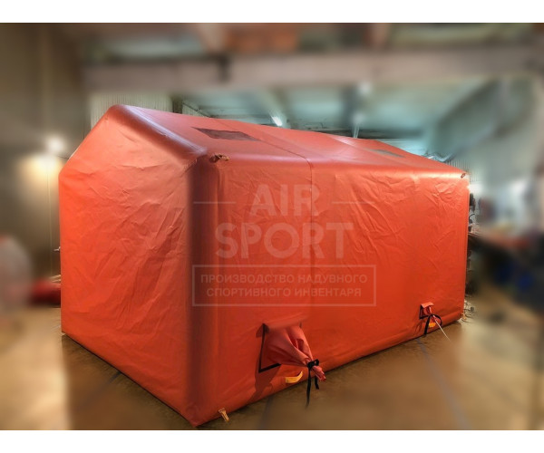 Inflatable tent PKM-10
